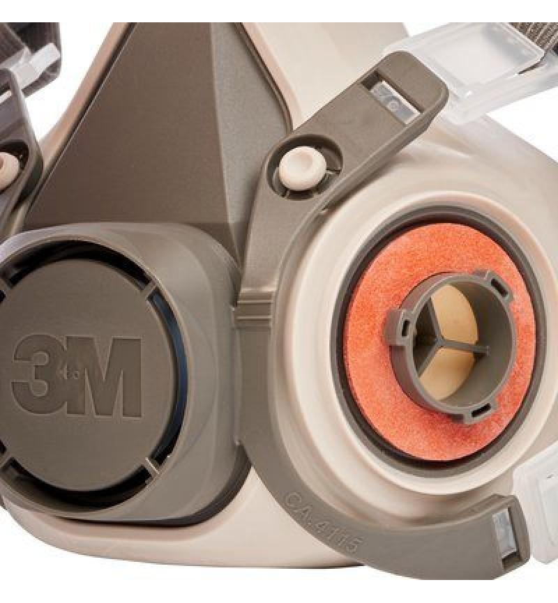 Μάσκα Μισού Προσωπου 6200 + Φίλτρα Α1 3M