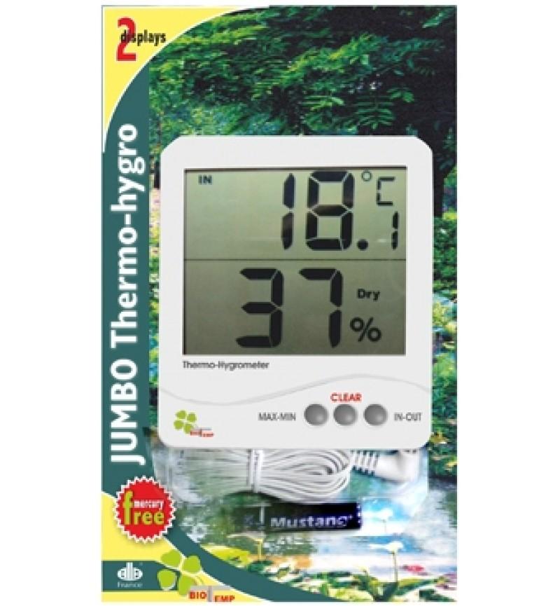 Θερμόμετρο-Υγρασιόμετρο Ψηφιακό Jumbo Alla France
