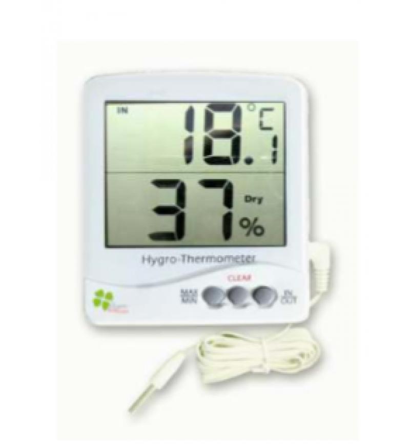 Θερμόμετρο-Υγρασιόμετρο Ψηφιακό Jumbo