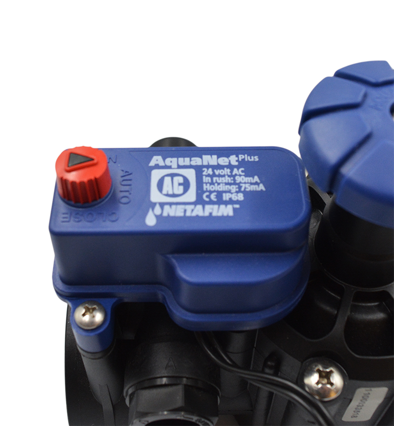 Ηλεκτροβάνα 2'' με F.C κ΄Μειωτή Πίεσης 24V Ρεύματος Netafim