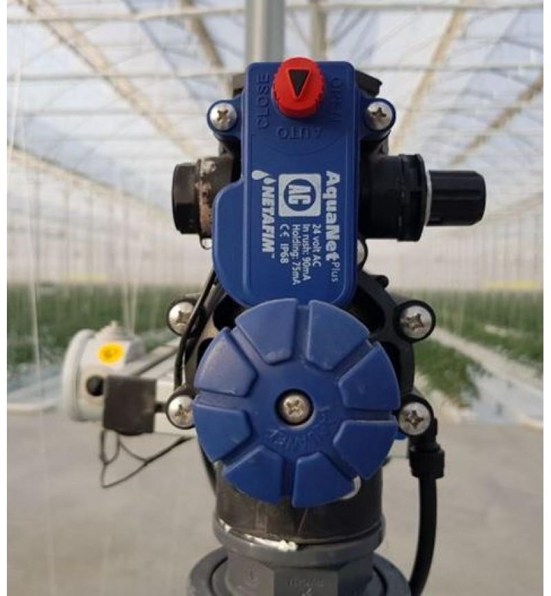 Ηλεκτροβάνα 1 1/2'' με F.C 9V Μπαταρίας Netafim