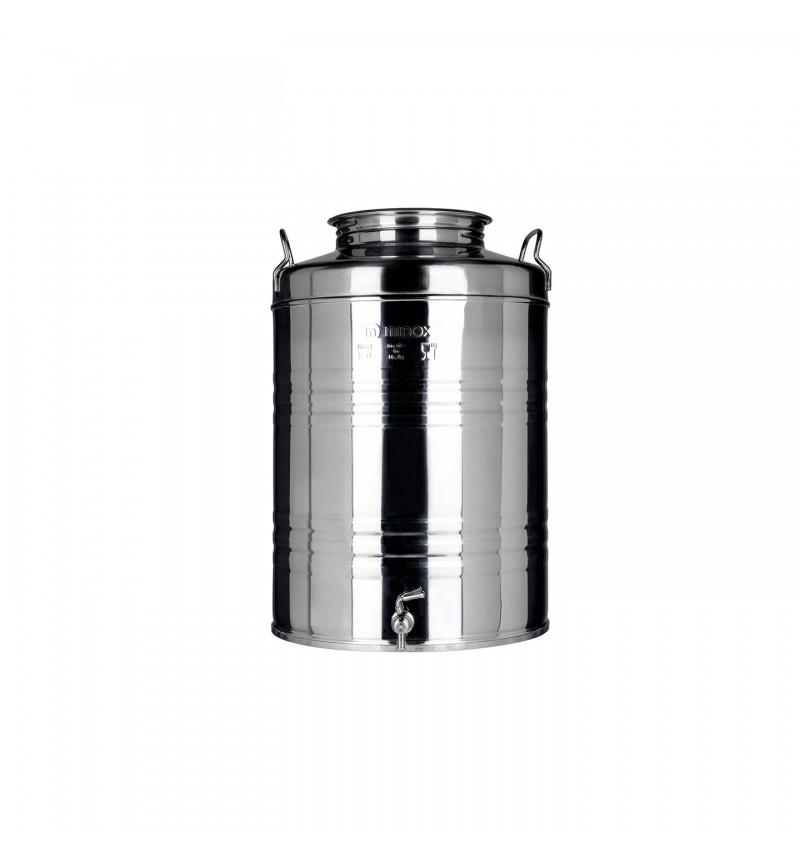 Δοχείο Ανοξείδωτο Βιδωτό 100Litr Minox