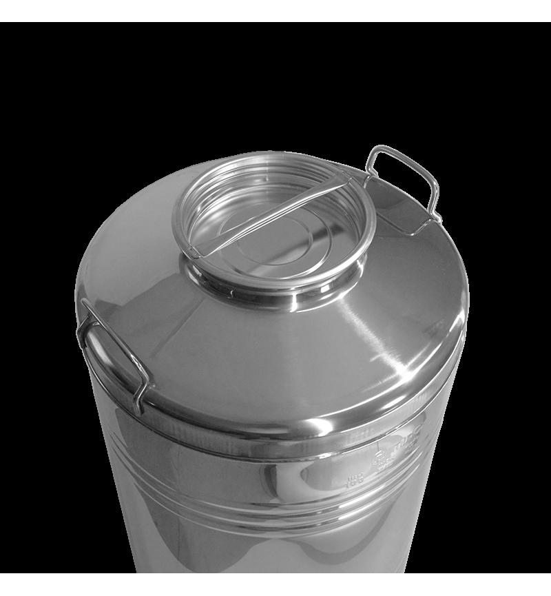 Δοχείο Ανοξείδωτο Βιδωτό 30Litr Minox