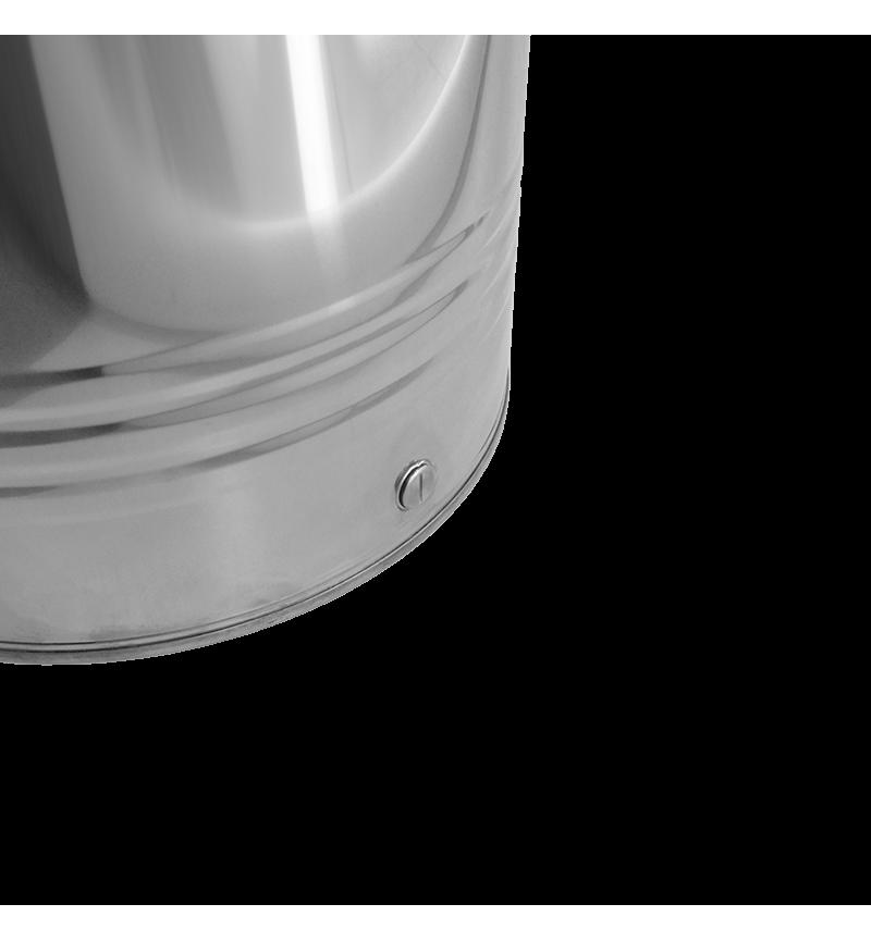 Δοχείο Ανοξείδωτο Βιδωτό 50Litr Minox